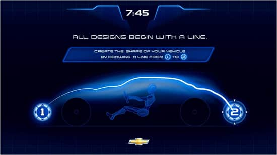 Rendering of the New Test Track Chevrolet Design Center at Walt Disney World Resort