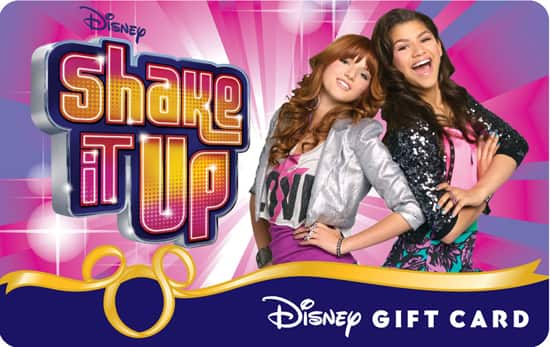 'Shake It Up' Disney Gift Card
