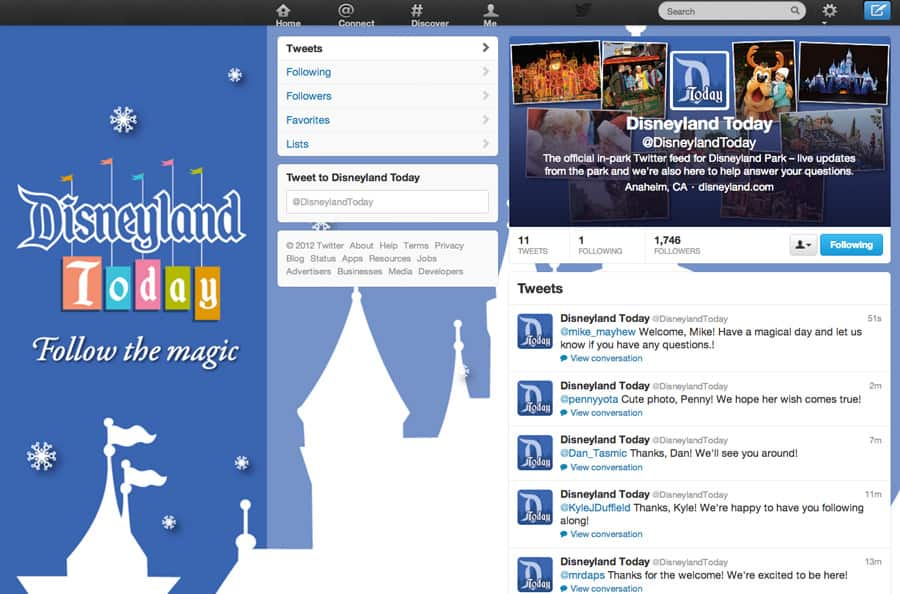 In-Park Social Media Program Expands to Disneyland Park with