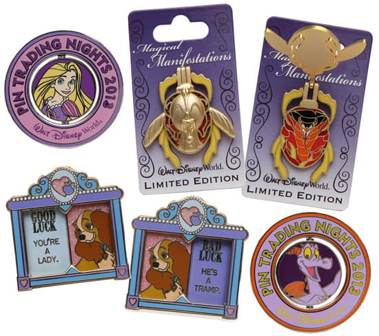 New Pins to Collect or Trade Coming to Walt Disney World Resort in 2013