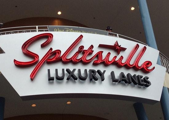 Splitsville Luxury Lanes in Downtown Disney at Walt Disney World Resort
