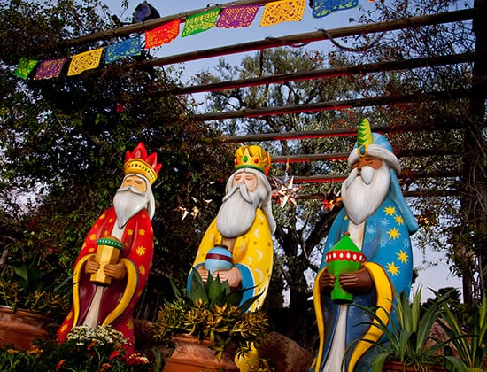 Three Kings Day Celebration at the Disneyland Resort