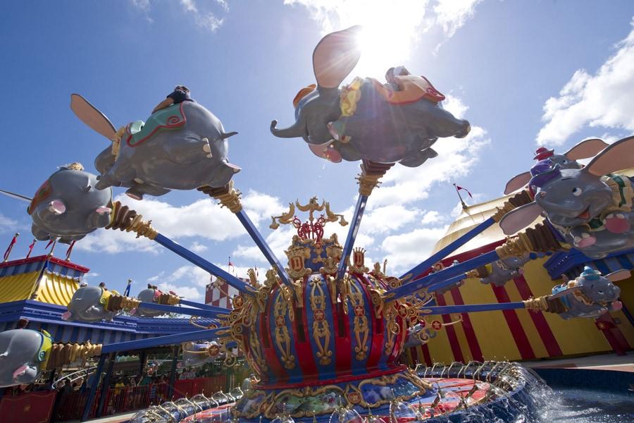 Dumbo the Flying Elephant at Magic Kingdom Park