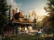 New Disney's Yellow Shoes Creative Group New Fantasyland Wallpaper