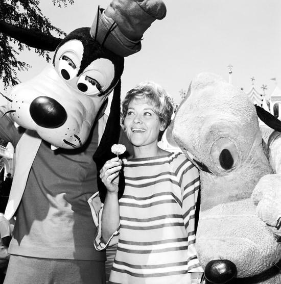 Singer Patti Page Visits Disneyland Park in 1968
