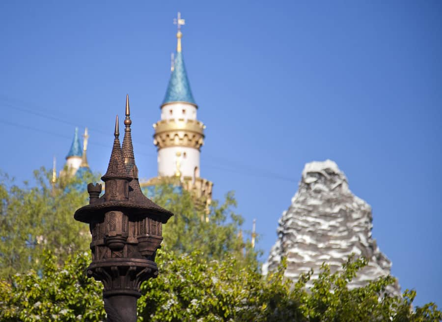 A Photo From Behind The Wall Of Fantasy Faire At Disneyland Park Disney Parks Blog