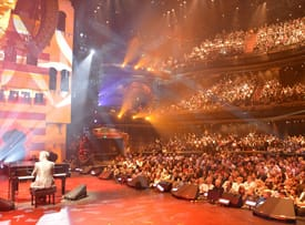 David Foster Performs at the Hyperion Theater for Yamaha's 125th Anniversary Concert
