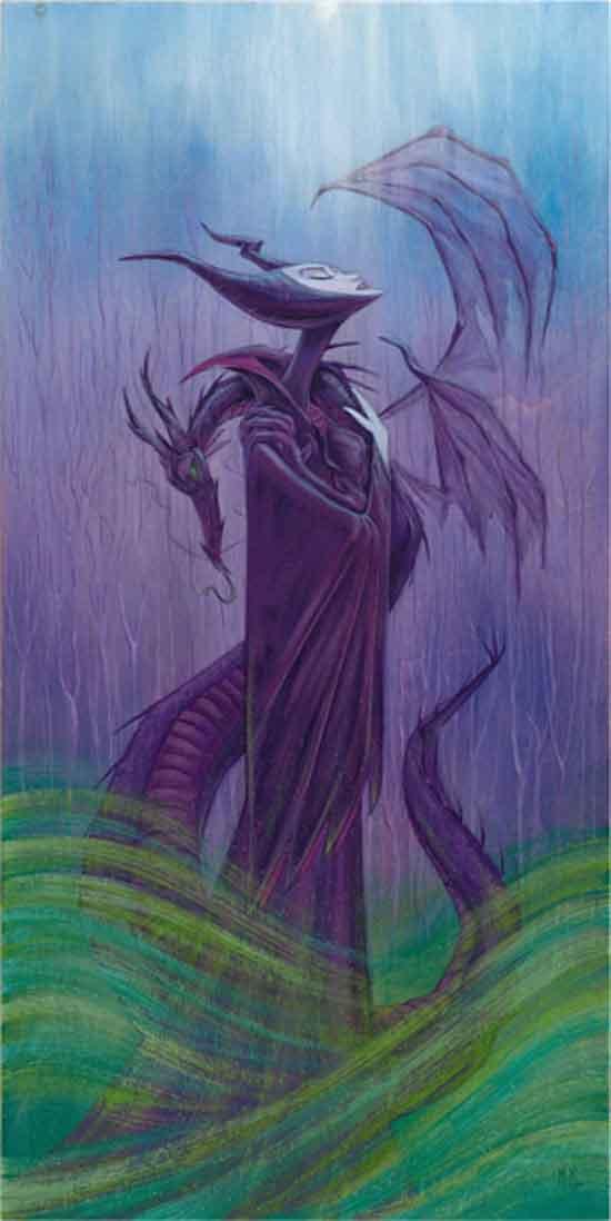 'Maleficent Wish' by Artist Martin Hsu