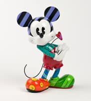 Artist Romero Britto's Recent Release, Featuring Mickey Mouse Heart