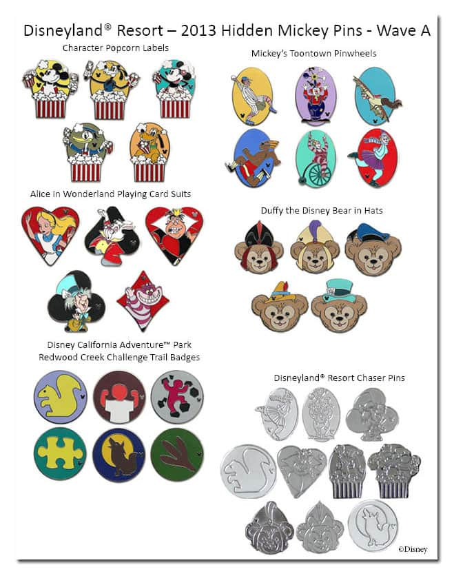 3058911028a Trade for New Hidden Mickey Pins in 2013 at Disney Parks | Disney ...
