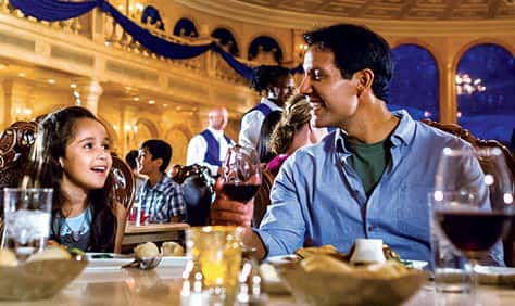Be Our Guest Restaurant at New Fantasyland in Magic Kingdom Park
