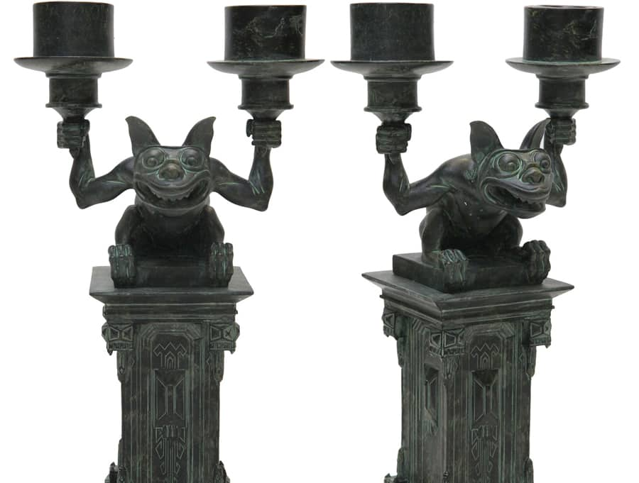 Candelabra - Part of New Chilling, Thrilling Haunted Mansion Merchandise from Disney Parks