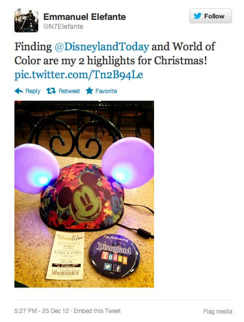 DCA Today and Disneyland Today Team Creates Magical Moments for Disneyland Resort Guests