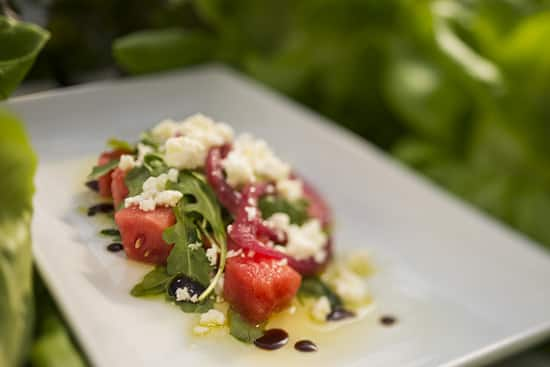 Watermelon Salad, One of the 'TRYit' Tastes for Kids at the Epcot International Flower & Garden Festival