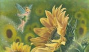 'A Sunflower's Friend' by ACME Artist Annick Biaudet