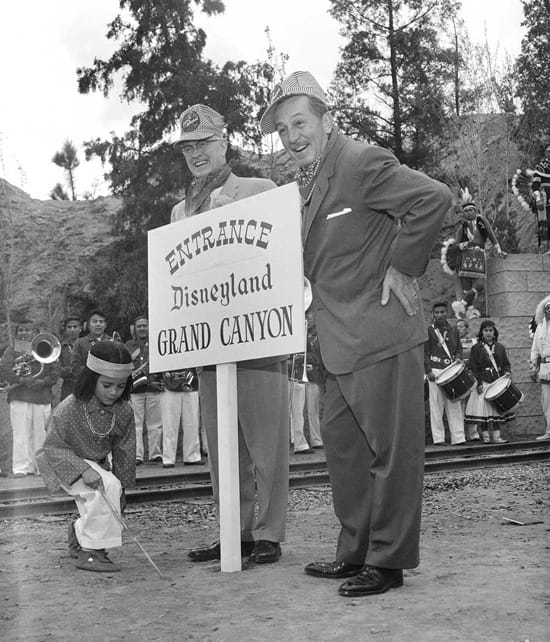 1958 Opening of the Grand Canyon Diorama at Disneyland Park