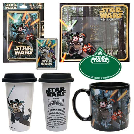 First Look at Star Wars Weekends 2013 Merchandise at Disney's Hollywood Studios, Including a Disney Pin, a Coffee Mug, a Photo Frame and More