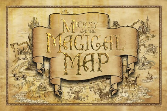 Explore the Musical Worlds of Disney When 'Mickey and the Magical Map' Opens at Disneyland Park May 25