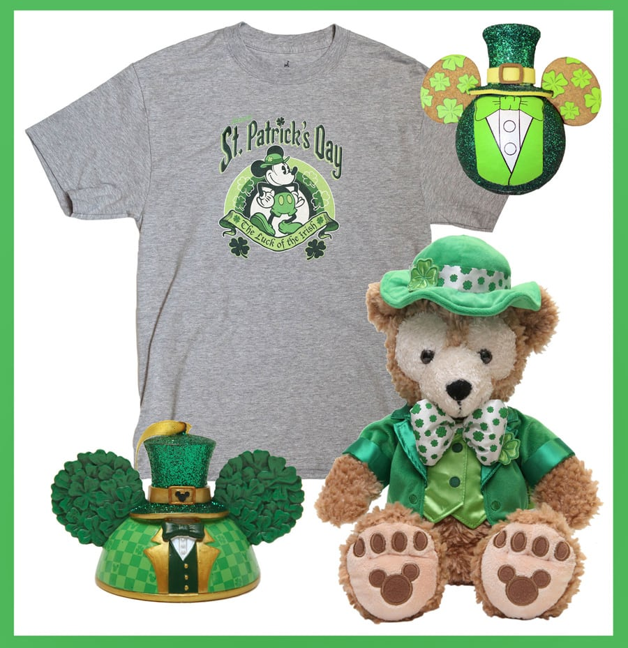 35da05663 Some Lucky New Items at Disney Parks for St. Patrick's Day | Disney ...