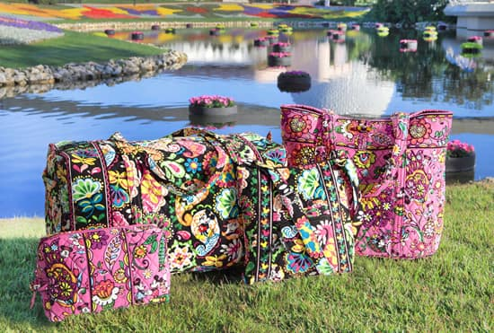 Disney Inspired Handbags And Accessories By Vera Bradley To Bloom This Fall At Parks