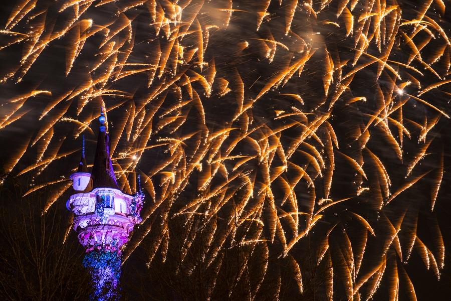 Disney Parks After Dark: Rapunzel's New View at Magic Kingdom Park