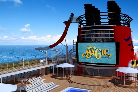 AquaDunk Thrill Slide on the Disney Magic