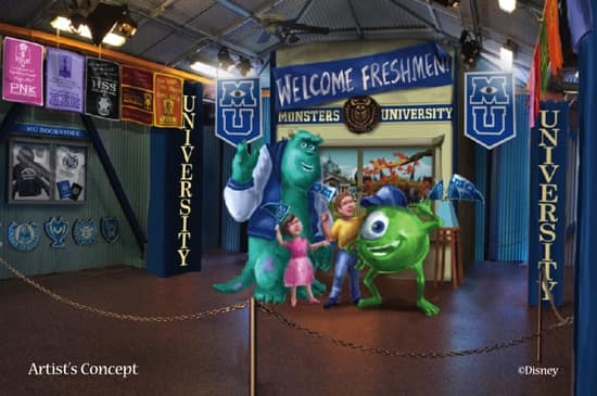 attend monsters university at disney parks this summer disney