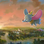 Rob Kaz - Flight Over Fantasyland, at Art of Disney in the Downtown Disney Marketplace