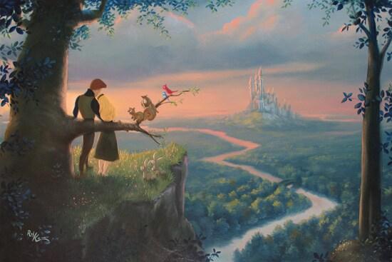 New Disney Fine Art Debuts At The Walt Disney World Resort Disney Parks Blog