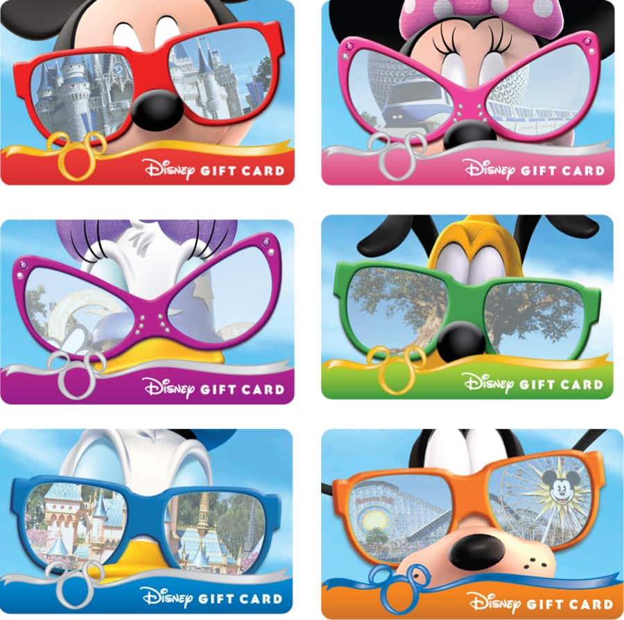 sun and fun with disney gift card sunglasses series disney parks blog