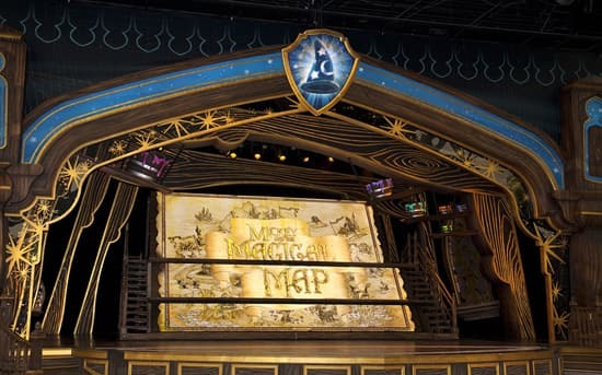 The Opening Title for 'Mickey and the Magical Map' at Disneyland Park