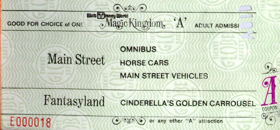 Vintage Walt Disney World An A Attraction Or An E Disney Parks Blog