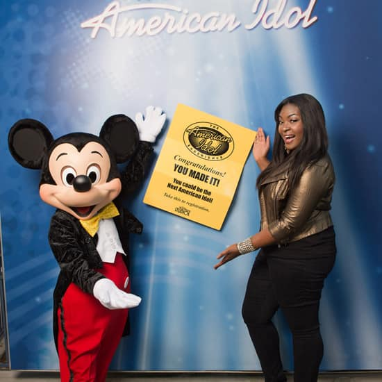 New 'American Idol' Candice Glover Visits Disney's Hollywood Studios