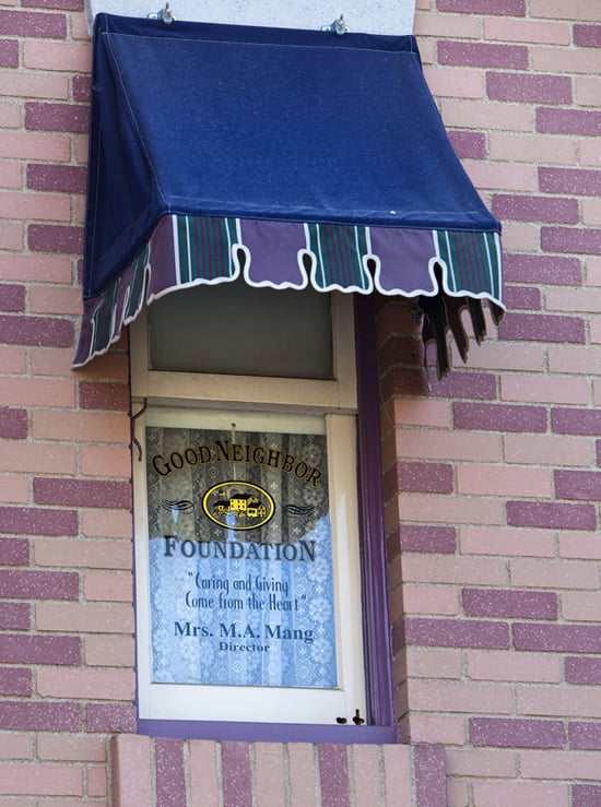 Mary Anne Mang is Honored with a Window on Main Street, U.S.A., at Disneyland Park