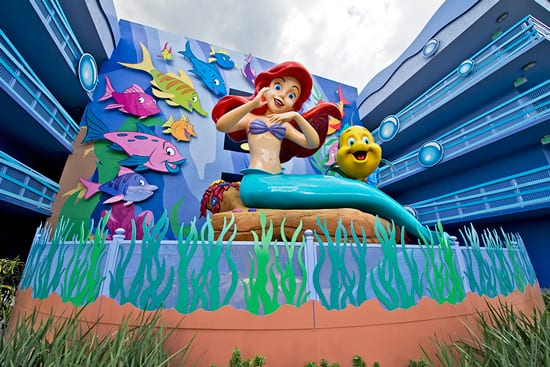 'The Little Mermaid' Actress Jodi Benson Leaves Her Mark on Disney's Art of Animation Resort