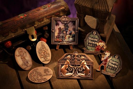 Limited-Edition Grand Opening Music Box Jumbo Pin at Mystic Point at Hong Kong Disneyland