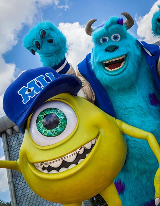 Mike and Sulley of Disney•Pixar's 'Monsters University' Will Join the Fun at Magic Kingdom Park During Disney Parks' Monstrous Summer All-Nighter