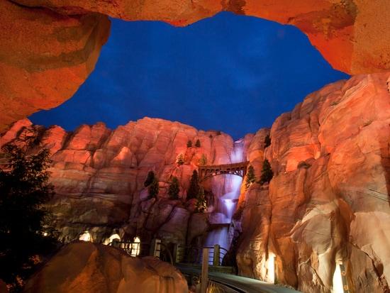 Firewall Falls in Ornament Valley at Disney California Adventure Park
