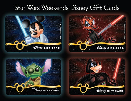 New Disney Gift Cards Available During Star Wars Weekends at Disney's Hollywood Studios