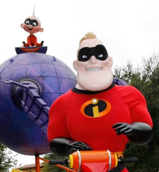 Mr. Incredible to Appear During Limited Time Magicat Disney California Adventure Park
