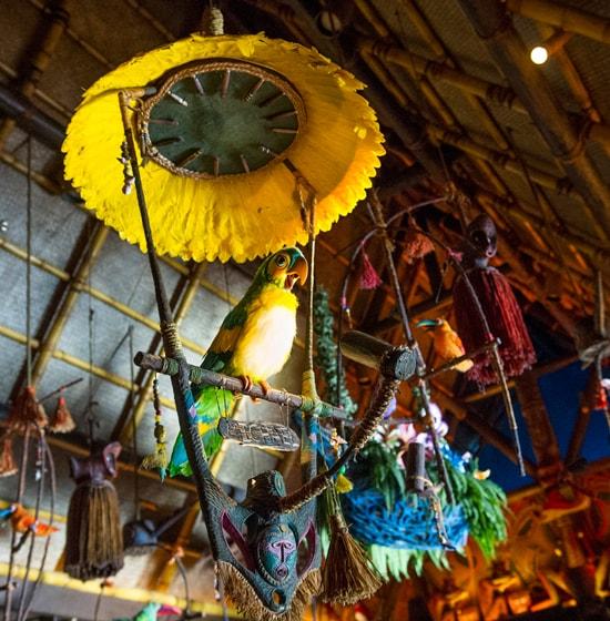 Visiting The Enchanted Tiki Room At Magic Kingdom Park at Walt Disney World Resort