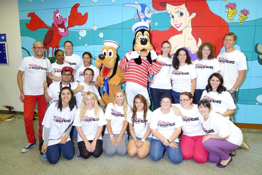 Disney Cruise Line Shares Magic in Barcelona Hospital