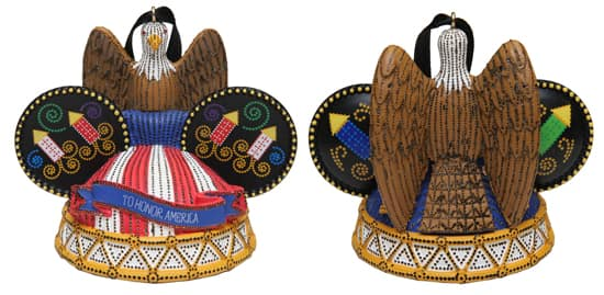 Bald Eagle Electrifying Ear Hat Ornament Set Coming to Disney Parks in August