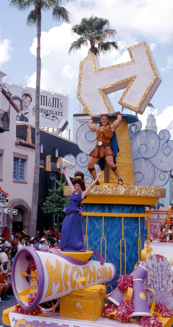 The Hercules - Zero to Hero Victory Parade at Disney's Hollywood Studios Back in 1997