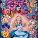 Jeremiah Ketner - Afternoon Tea, Part of the Pop Fusion Exhibit at WonderGround Gallery in the Downtown Disney District
