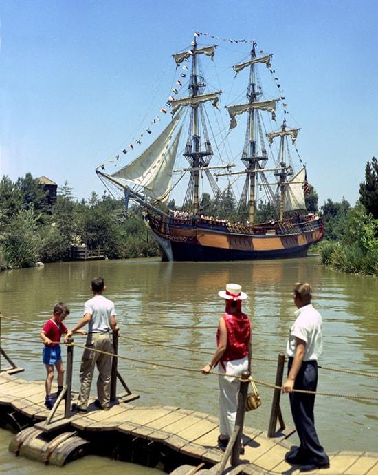 Sailing Ship Columbia at Disneyland Park