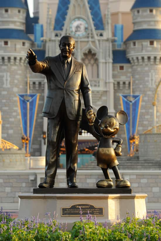 The Partners Statue at Magic Kingdom Park at Walt Disney World Resort
