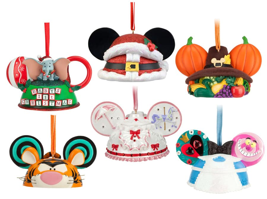 limited time magic spotlight on new disney ear hat ornaments at disney parks - Disney Christmas Ears