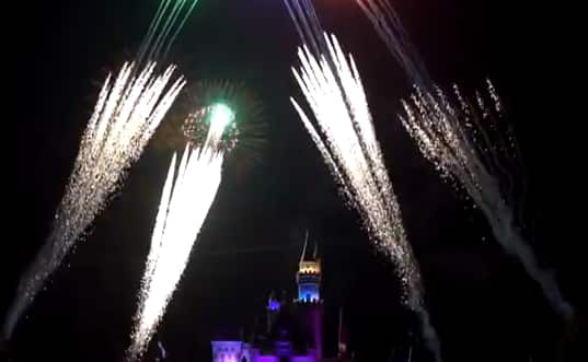 Taking it Slow: Celebrating the 58th Anniversary of Disneyland with Fireworks