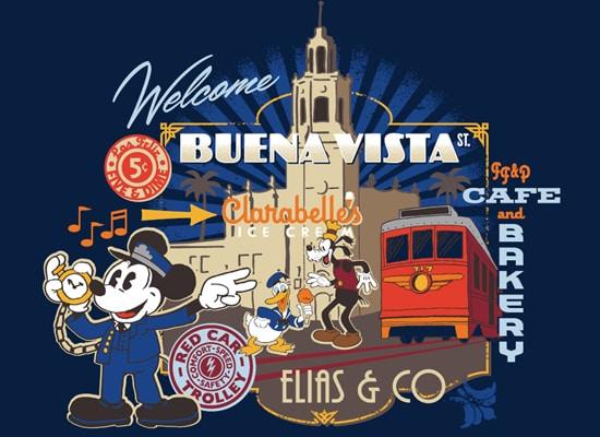New Look for Buena Vista Street Merchandise at Disney California Adventure Park